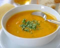 Recette velouté aux 5 légumes et aromates façon indienne