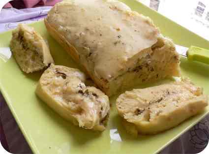 Recette de cake trois fromages au zaatar