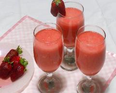 Recette smoothie fraise et banane