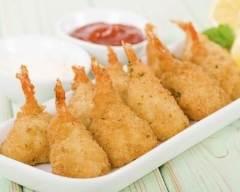 Recette beignets de crevettes sauce tartare