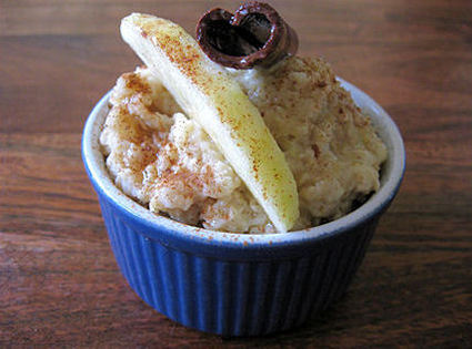 Recette de porridge pomme-cannelle