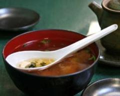 Recette soupe au tofu et au miso