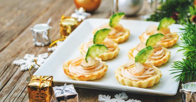 Recette de tartelettes légères à la mousse de saumon light et aux ...