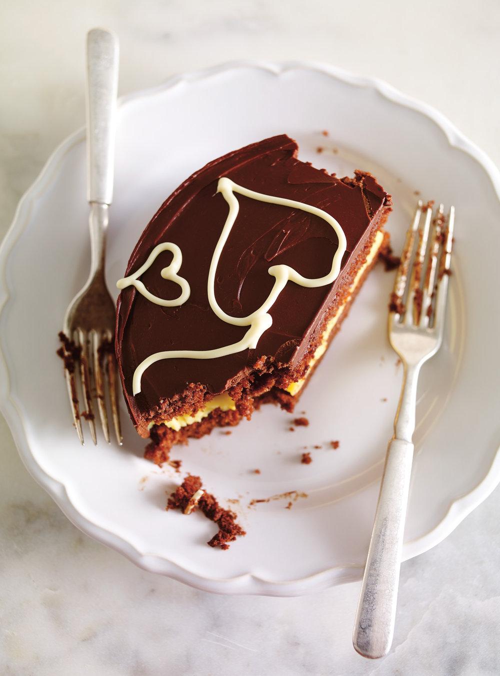 Gâteau chocolat passion   ricardo