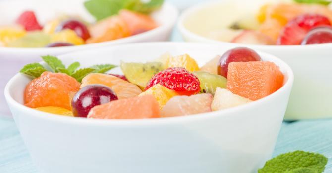 Recette de salade de fruits ultralight à la grenadine