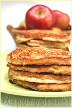 Recette de pancakes pommes-cannelle