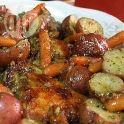Recette carottes et pommes de terre nouvelles sautées – toutes les ...