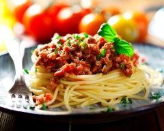 Recette spaghettis bolognaise maison