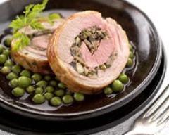 Recette roulade d'agneau du quercy igp aux champignons et aux ...