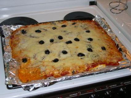 Recette de pizza simplissime