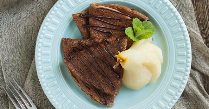 recette p 226 te 224 cr 234 pes au cacao recette