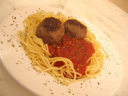Recette de boulettes de viande à la sauce tomate