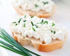 Recette toasts de chèvre frais légers