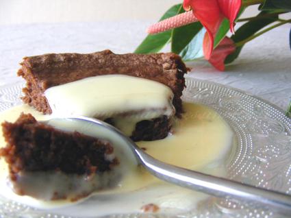 Recette de fondant au chocolat à la crème de marrons