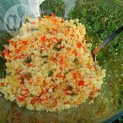 Recette salade de couscous aux légumes – toutes les recettes ...