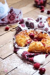Recette de galette des rois frangipane, framboises et chocolat blanc