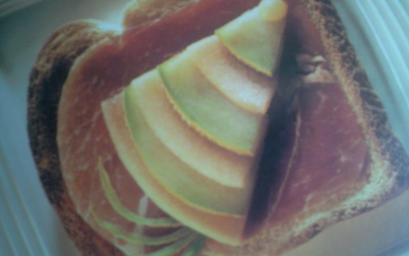 Recette sandwich de parme au melon économique et express ...
