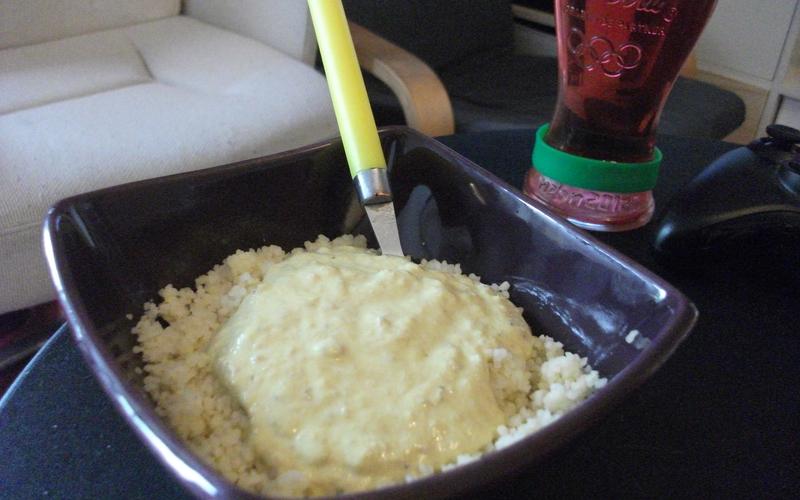 Recette semoule au thon et à la crème pas chère et rapide ...