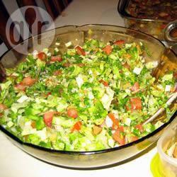 Recette salade fattoush libanaise – toutes les recettes allrecipes