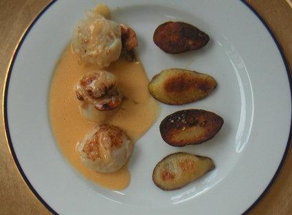 Recette de noix de saint-jacques au beurre d'agrumes