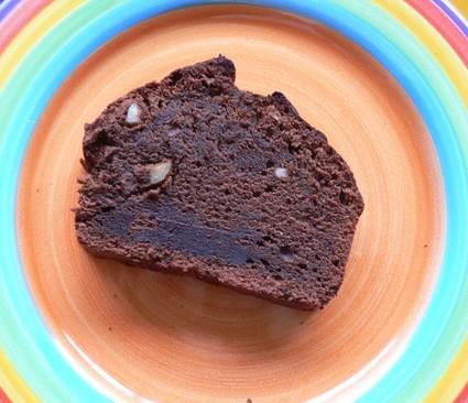 Recette de moelleux chocolat noisettes et beurre de cacahuètes