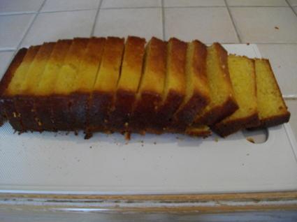 Recette de cake moelleux à l'orange