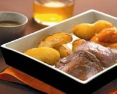 Recette gigot d'agneau rôti au cidre, saveurs iodées