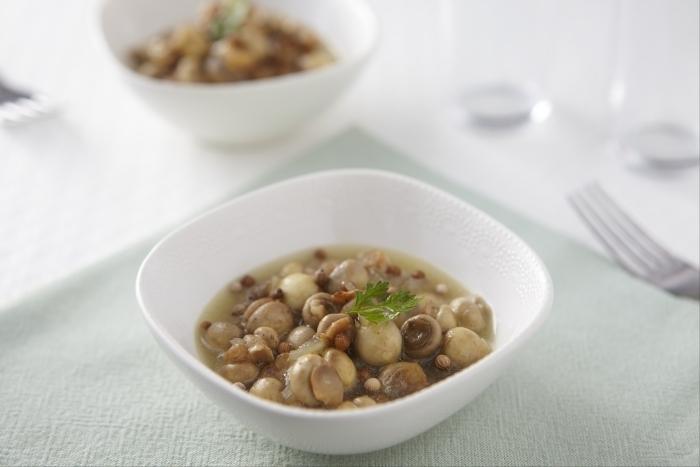 Recette de champignons à la grecque facile et rapide