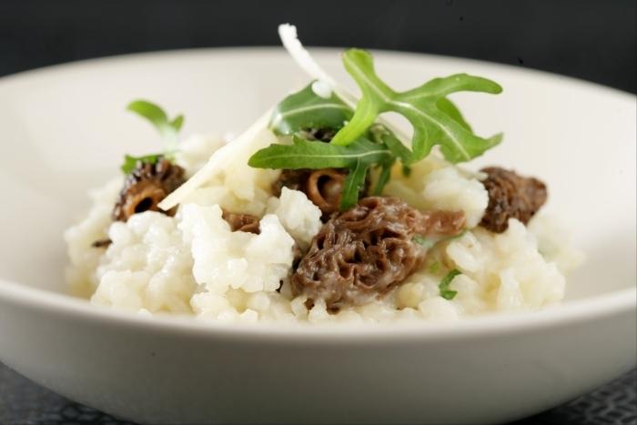 Recette de risotto aux morilles et parmesan facile et rapide
