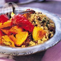 Recette salade de couscous à la persane – toutes les recettes ...