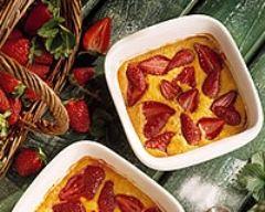 Recette gratin de fraises et de pamplemousse