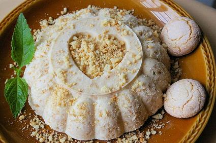 Recette de dessert glacé aux macarons