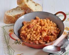 Recette torsettes au chorizo et tomates