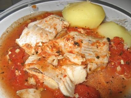 Recette de ragoût de poisson à la tomate
