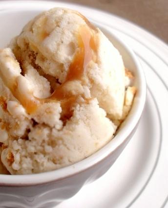 Recette de crème glacée façon banoffee