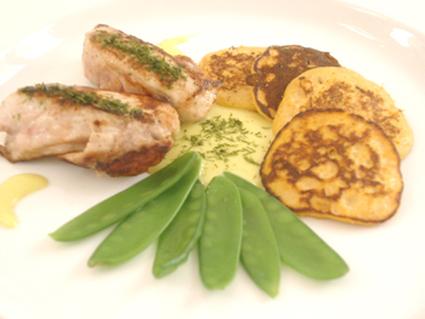 Recette de mignons de lapin au wasabi