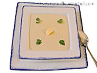 Potage de pommes de terre  la recette illustrée  meilleurduchef.com