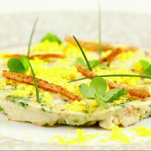 Recette omelette blancs d'œufs, mayonnaise et chantilly façon ...