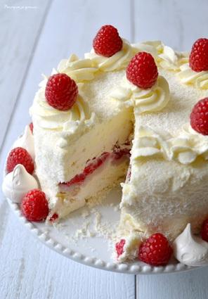 Recette de gâteau glacé à la meringue, chantilly noix de coco ...