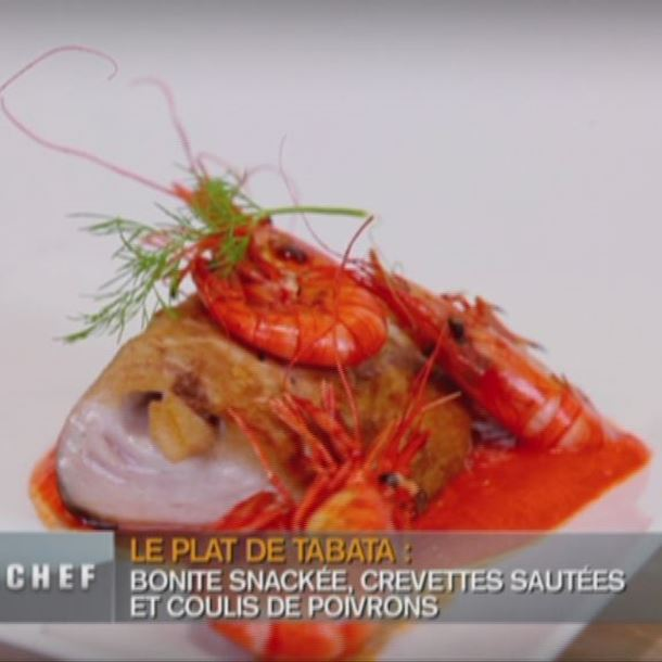 Recette cabillaud, soupe de poisson roche et petits légumes