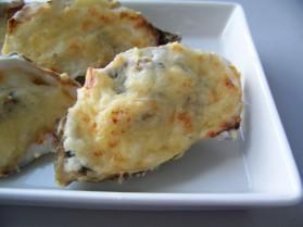 Huîtres gratinées sur fondue de poireaux pour 2 personnes ...