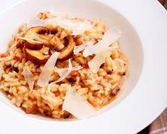 Recette risotto aux champignons et au parmesan