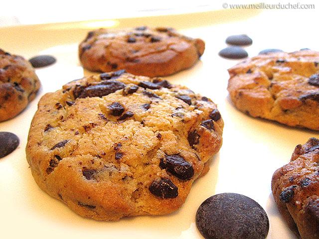Cookies au chocolat  recette de cuisine illustrée  recette rapide ...