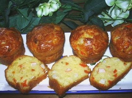 Recette de cake au surimi et aux carottes