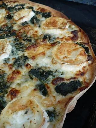 Recette de pizza à la tetragone cornue