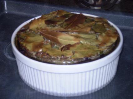 Recette de terrine de canard aux cassis et pistaches