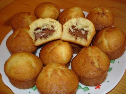 Recette de muffins au praliné