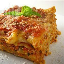 Recette lasagnes végétariennes de jessica – toutes les recettes ...
