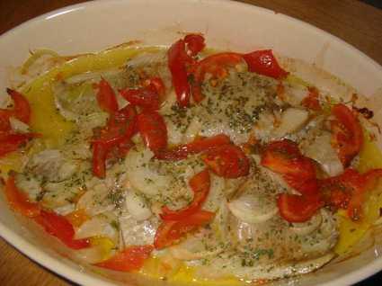 Recette de filets de poisson au four