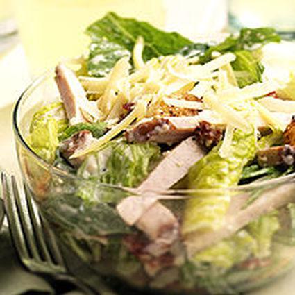 Recette de salade romaine au poulet